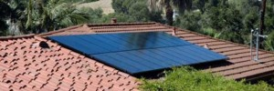 solar panels on roof in ojai california