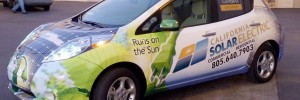 solar powered car in california solar electric fleet