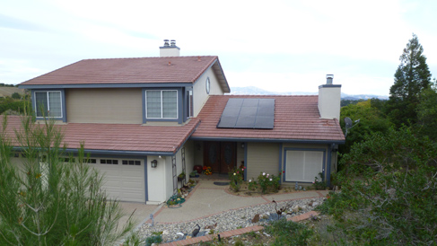 Home Solar Installation in Ojai, Leite Residence